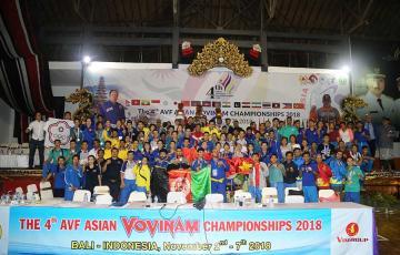 Vovinam lan toả mạnh mẽ ở châu Á