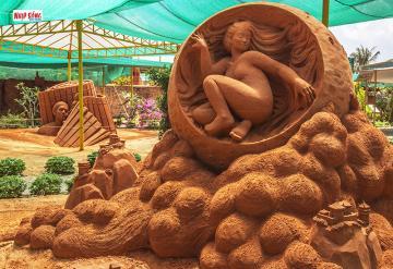 Chiêm ngưỡng vẻ đẹp nghệ thuật từ cát