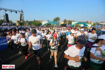 Hơn 4.000 vận động viên tham gia giải Mekong Delta marathon Hậu Giang 2019