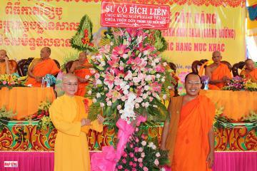 Niềm vui của sư cô Tiến sĩ Bích Liên với ngôi chùa Thôn Dôn ở tỉnh Kiên Giang