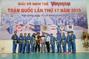 TP.HCM bảo vệ thành công ngôi đầu toàn đoàn tại Giải Vô địch trẻ VOVINAM toàn quốc lần thứ 17