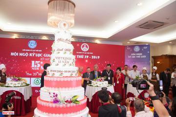 Hội ngộ Kỷ lục gia lần thứ 39 và kỷ niệm 15 năm phát triển của Tổ chức Kỷ lục Việt Nam
