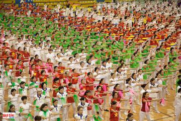 2800 người cao tuổi sẽ tham gia chương trình Đồng diễn thể dục dưỡng sinh 2019 tại trung tâm TP.HCM