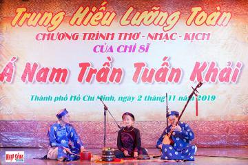 Chương trình biểu diễn thơ - nhạc - kịch Á Nam Trần Tuấn Khải