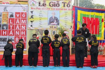Môn sinh Takhado về TP.HCM dự Lễ giỗ tổ