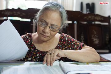 Cựu chiến binh Mai Thị Tuyết và 15.000 lá thư nghĩa tình