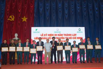 Ra mắt Phân viện Học viện Thế giới Võ cổ Truyền Việt Nam đánh dấu chặn đường 30 thành lập Liên đoàn VCT TP.HCM