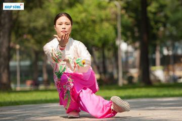 Trần Lê Thanh Trúc trình diễn Wushu tuyệt đẹp