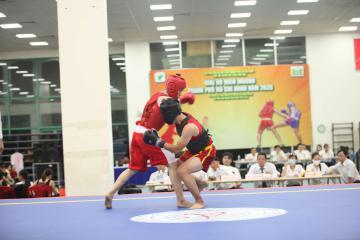 Khai mạc giải Vô địch Wushu Thành phố Hồ Chí Minh 2020