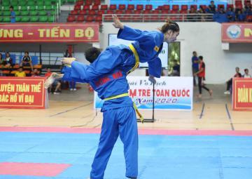 TPHCM Bảo vệ thành công ngôi đầu Giải vô địch trẻ Vovinam toàn quốc 2020