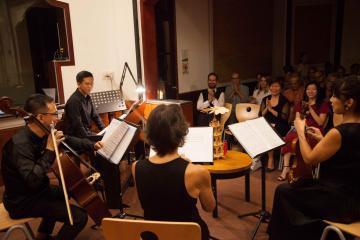 Saigon String Quartet: âm hưởng mùa Giáng sinh an lành