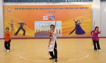 Bộ môn Thái Cực Đông Gia với nhiều hoạt động chào mừng Ngày Quốc tế Phụ nữ
