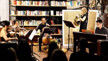Biểu diễn hòa nhạc chào mừng lễ Giỗ tổ Hùng Vương  tại trường Quốc tế Đức TP.HCM